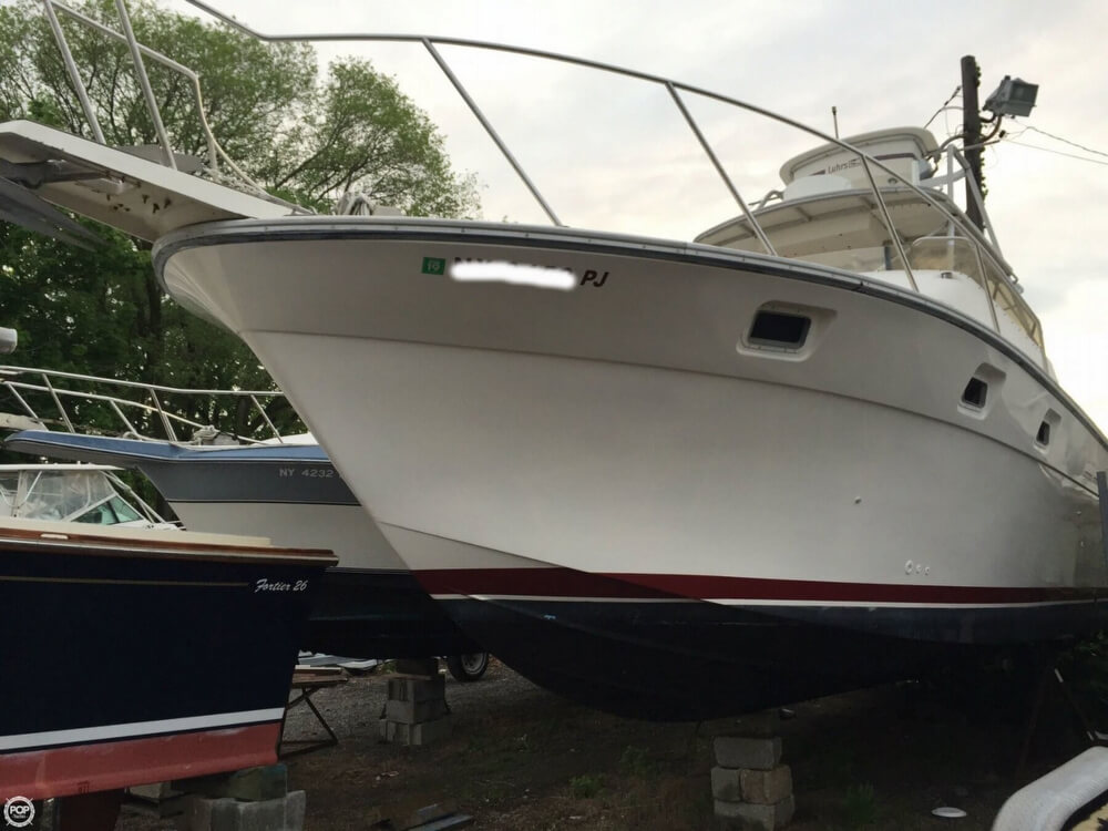 1986 Luhrs boat for sale, model of the boat is 340 Sport fisherman & Image # 4 of 40