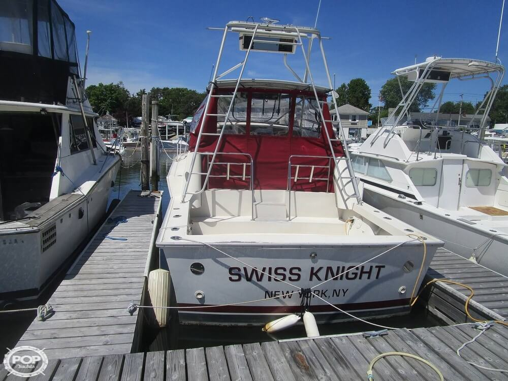 1986 Luhrs boat for sale, model of the boat is 340 Sport fisherman & Image # 6 of 40