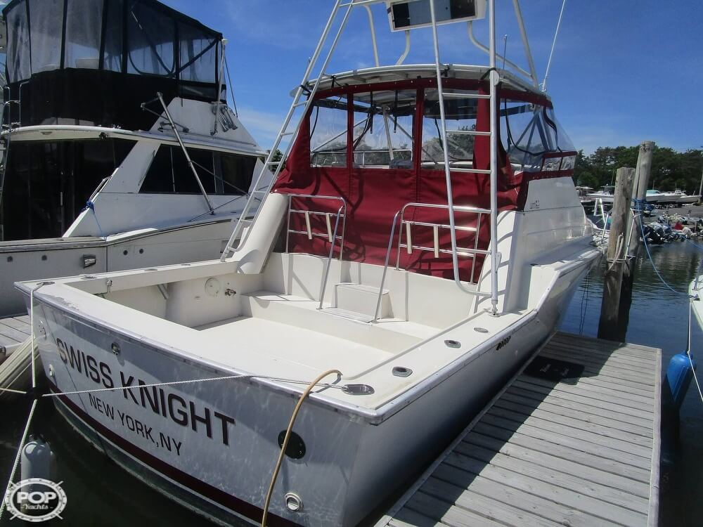 1986 Luhrs boat for sale, model of the boat is 340 Sport fisherman & Image # 2 of 40