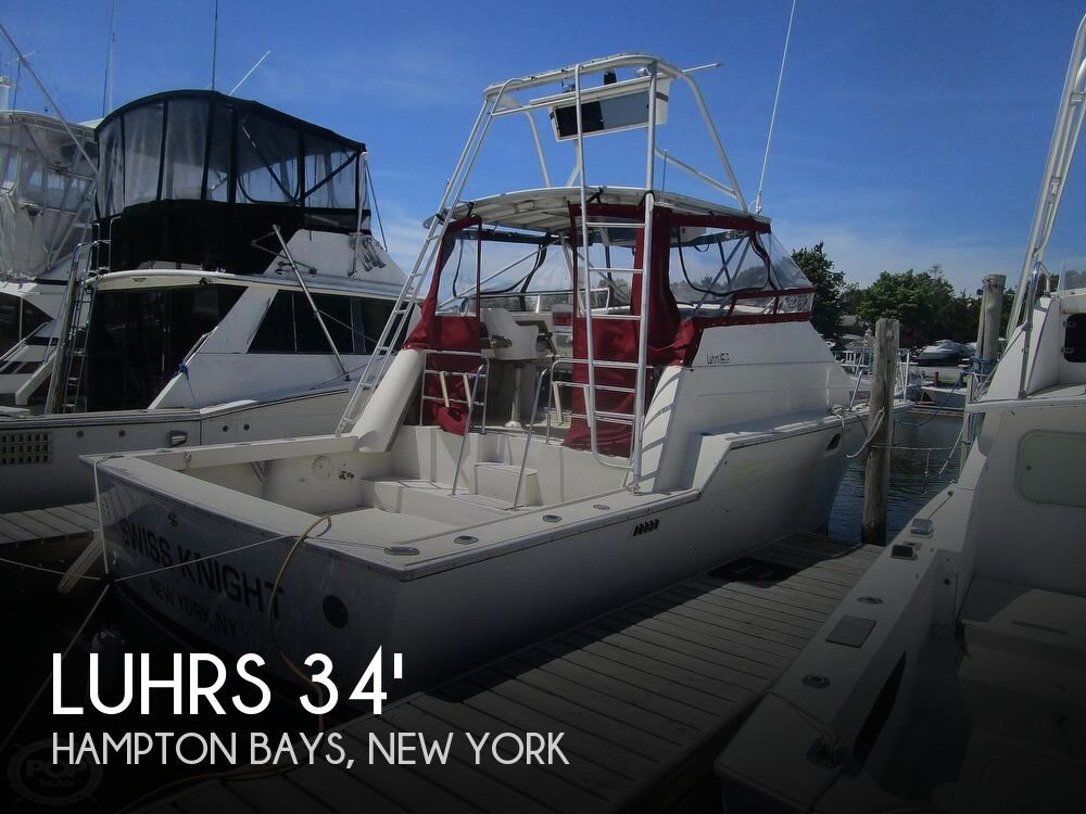 1986 Luhrs boat for sale, model of the boat is 340 Sport fisherman & Image # 1 of 40