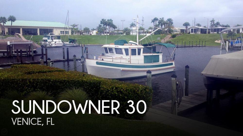 Used Sundowner Boats For Sale by owner | 1983 Sundowner 30