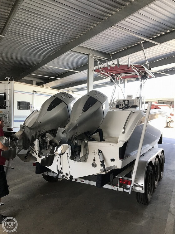 2009 Carolina Skiff boat for sale, model of the boat is Sea Chaser 2600 CC & Image # 9 of 41