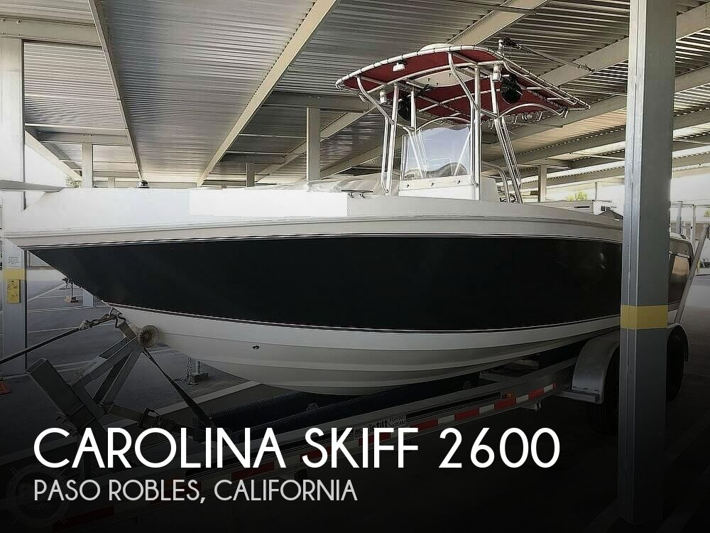 2009 CAROLINA SKIFF SEA CHASER 2600 CC for sale