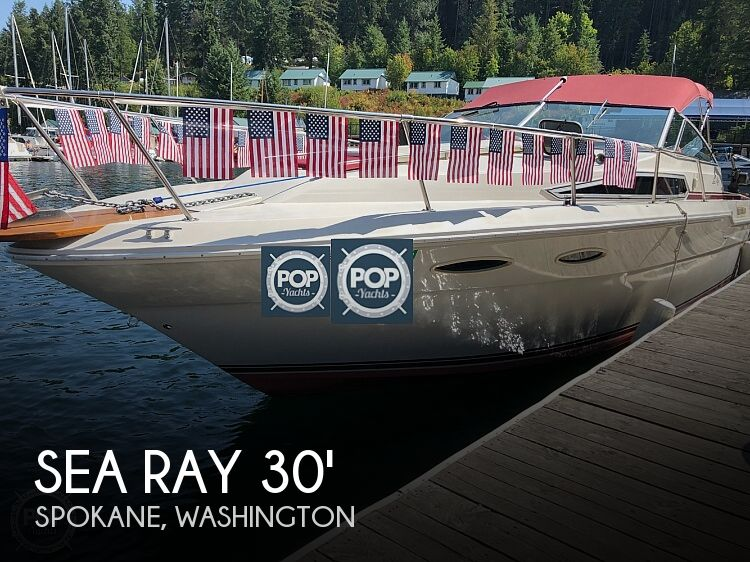 Used Sea Ray Boats For Sale in Washington by owner | 1988 Sea Ray 30