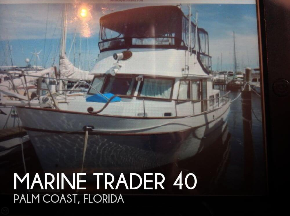 Used Marine Trader Boats For Sale by owner | 1979 Marine Trader 40