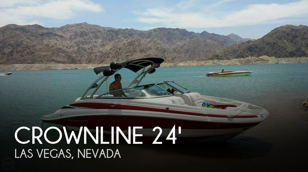 Used Boats For Sale in Nevada by owner | 2013 Crownline 24