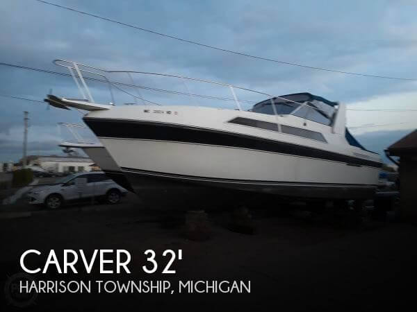 Used Carver Boats For Sale in Michigan by owner | 1988 Carver 32