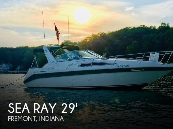 Used Boats For Sale in Fort Wayne, Indiana by owner | 1993 Sea Ray 33