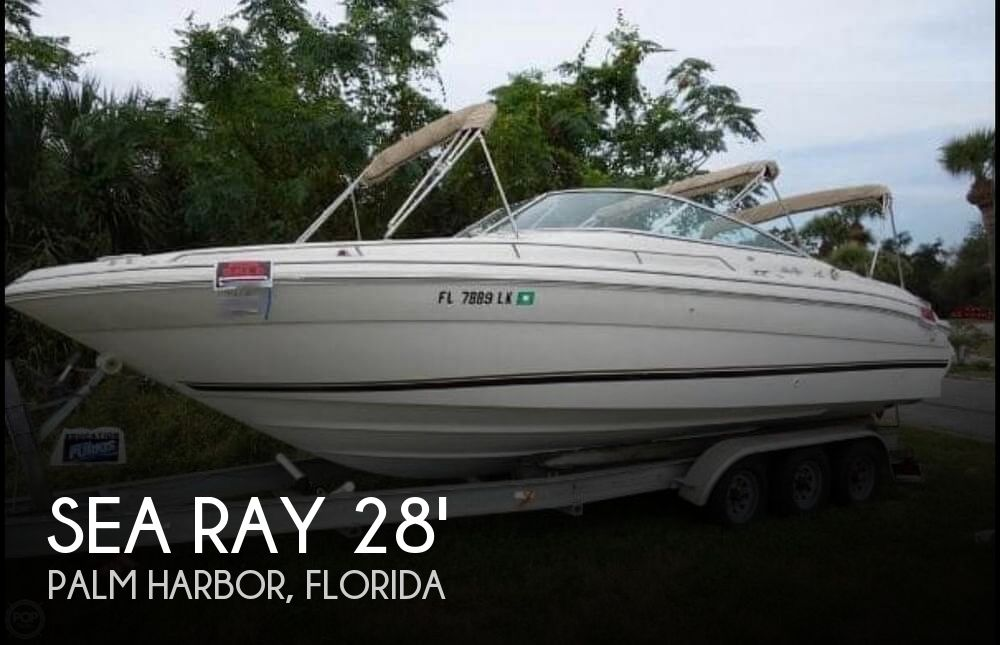 Used Sea Ray Deck Boats For Sale in Florida by owner | 2000 Sea Ray 28