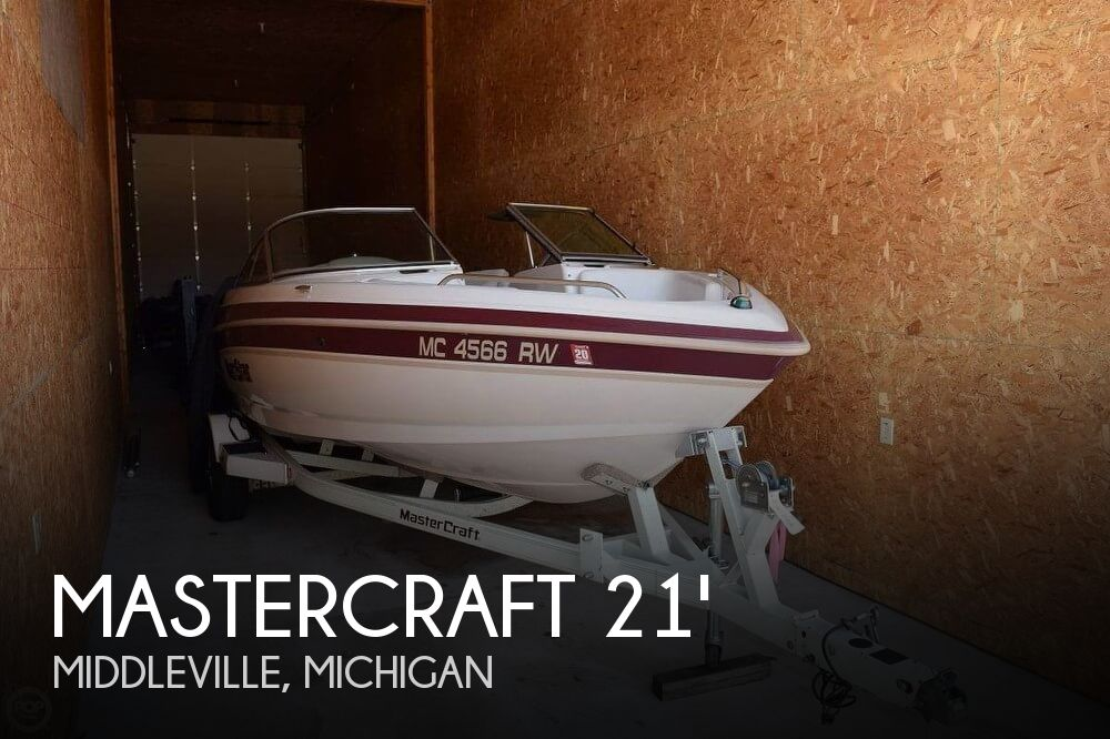 Used Mastercraft Boats For Sale in Michigan by owner   1999 Mastercraft 21