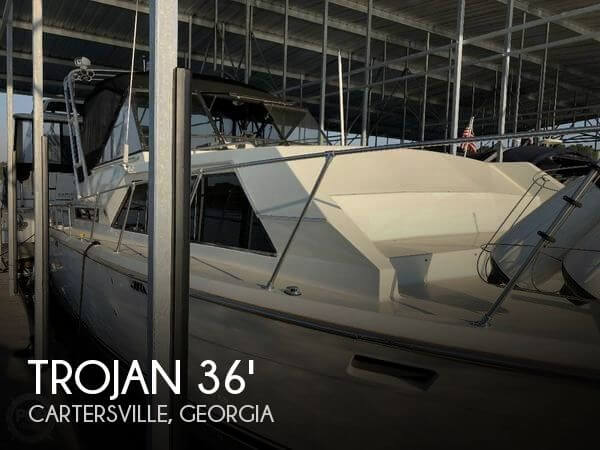 Used Motoryachts For Sale by owner | 1975 Trojan 36