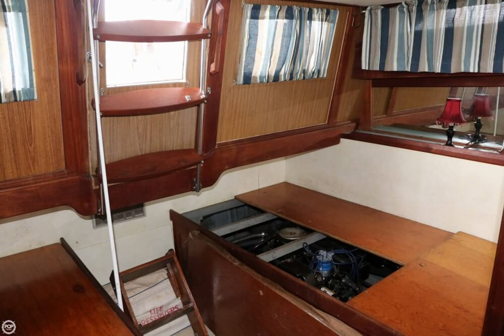 1975 Trojan boat for sale, model of the boat is F-36 Tri-Cabin & Image # 9 of 40
