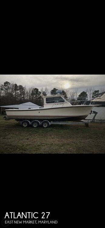Used Atlantic Boats For Sale by owner | 1989 Atlantic 27