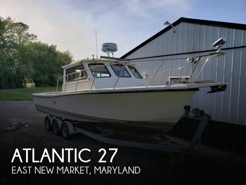 1989 Atlantic boat for sale, model of the boat is 27 & Image # 1 of 41