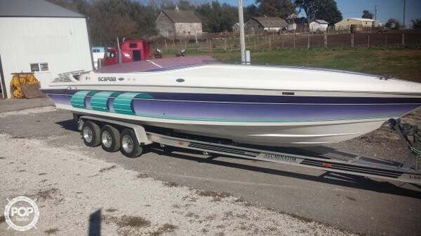 1994 Wellcraft boat for sale, model of the boat is Scarab Thunder & Image # 4 of 25