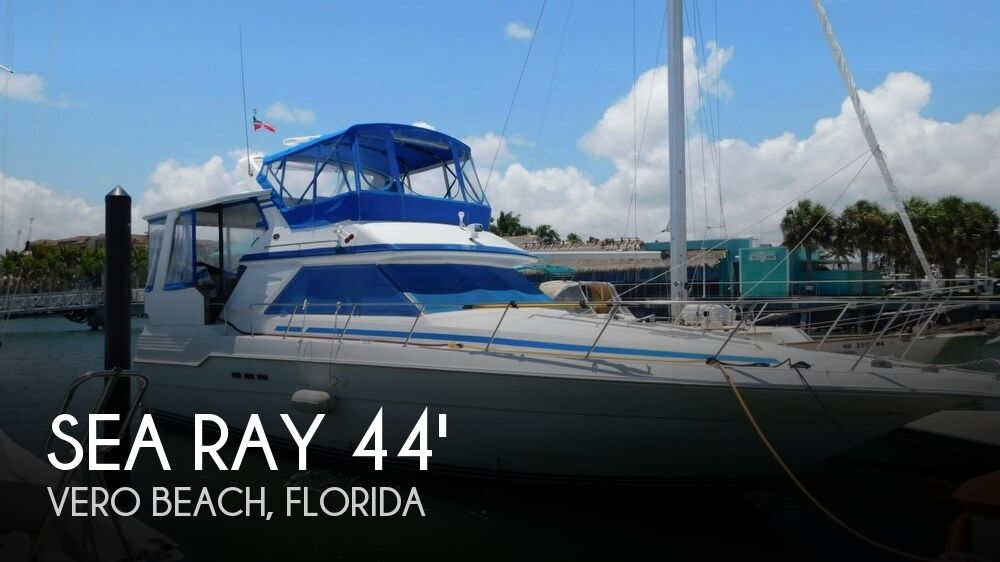 Used Sea Ray 44 Boats For Sale by owner | 1990 Sea Ray 44