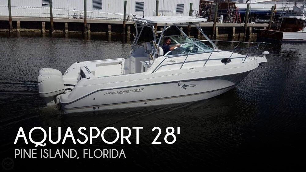 Used Aquasport Boats For Sale by owner | 2003 Aquasport 28