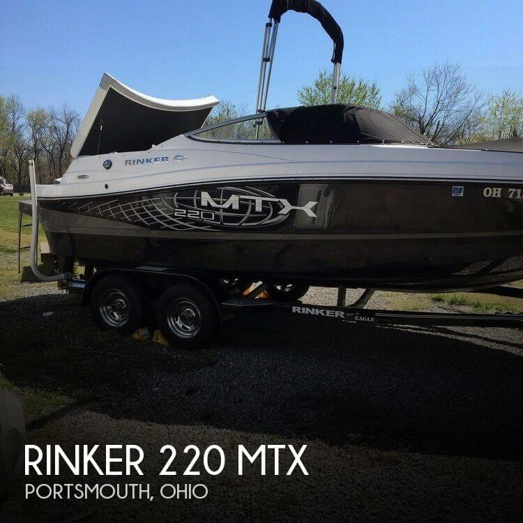 Used Boats For Sale in Huntington, West Virginia by owner   2014 Rinker 22