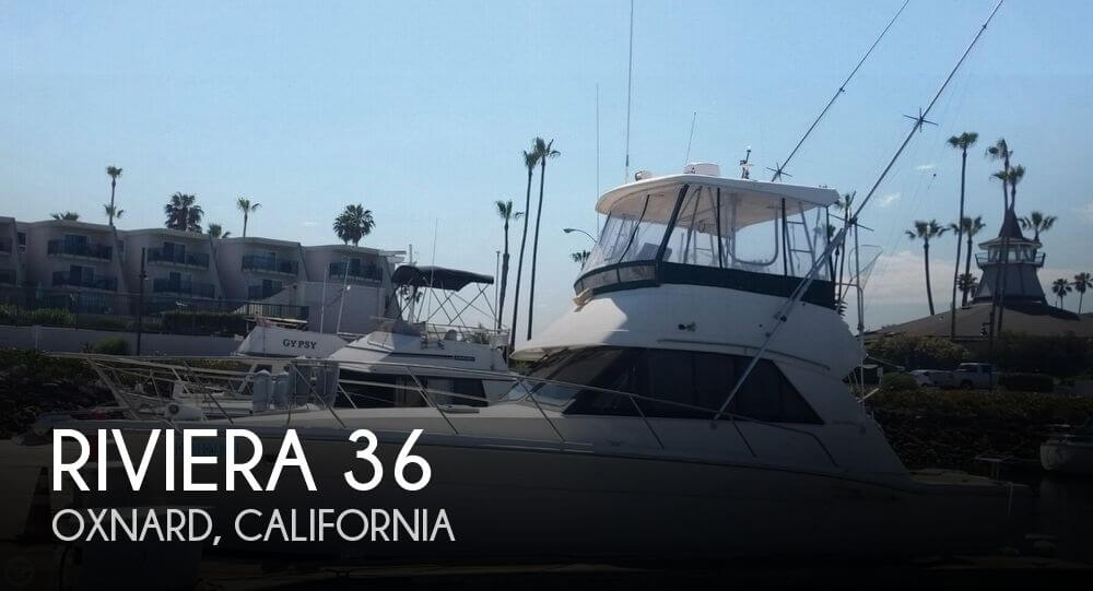 1994 Riviera boat for sale, model of the boat is 36 & Image # 1 of 40