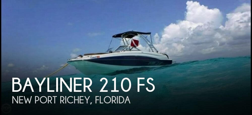 Used Bayliner 21 Boats For Sale by owner | 2015 Bayliner 210 FS