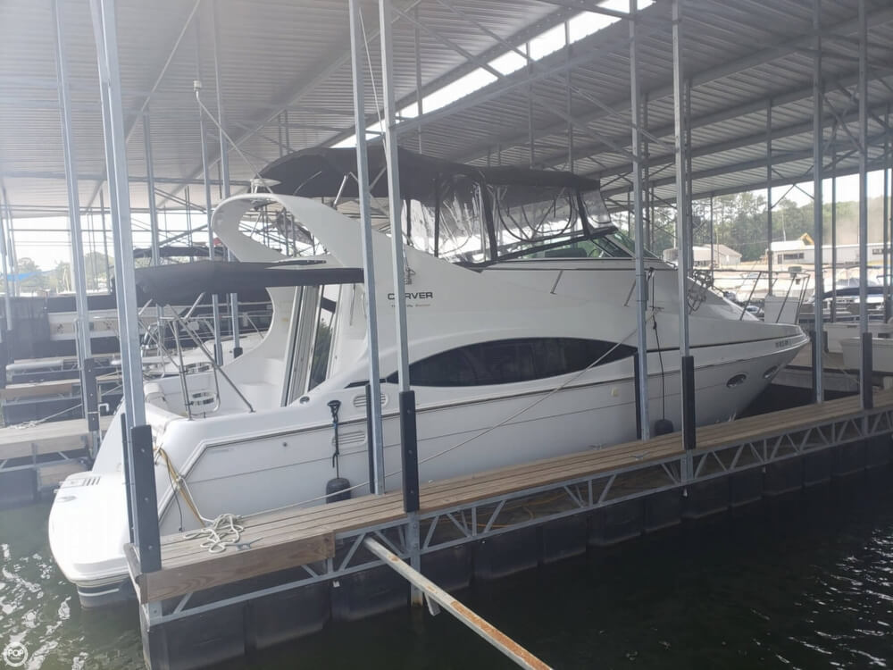 1998 Carver boat for sale, model of the boat is 350 Mariner & Image # 24 of 40
