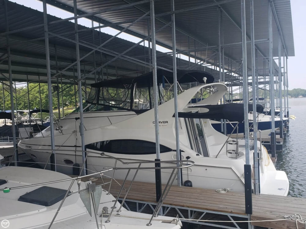 1998 Carver boat for sale, model of the boat is 350 Mariner & Image # 25 of 40