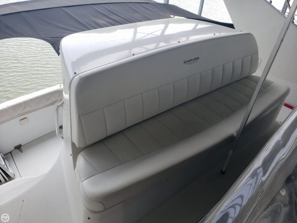 1998 Carver boat for sale, model of the boat is 350 Mariner & Image # 34 of 40