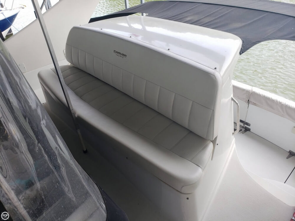 1998 Carver boat for sale, model of the boat is 350 Mariner & Image # 35 of 40