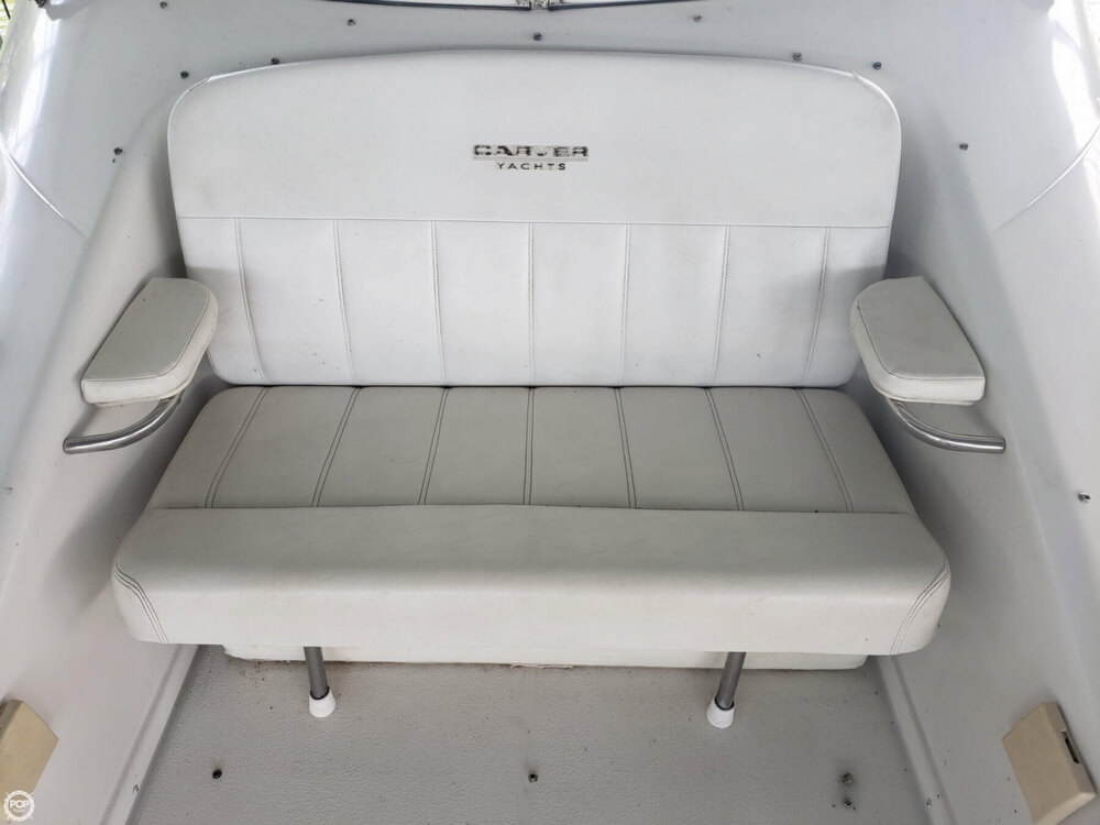 1998 Carver boat for sale, model of the boat is 350 Mariner & Image # 16 of 40