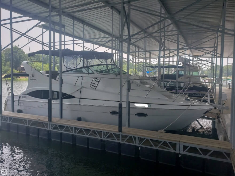1998 Carver boat for sale, model of the boat is 350 Mariner & Image # 15 of 40