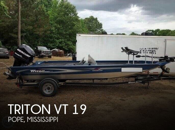 Used Boats For Sale in Memphis, Tennessee by owner | 2008 Triton 19