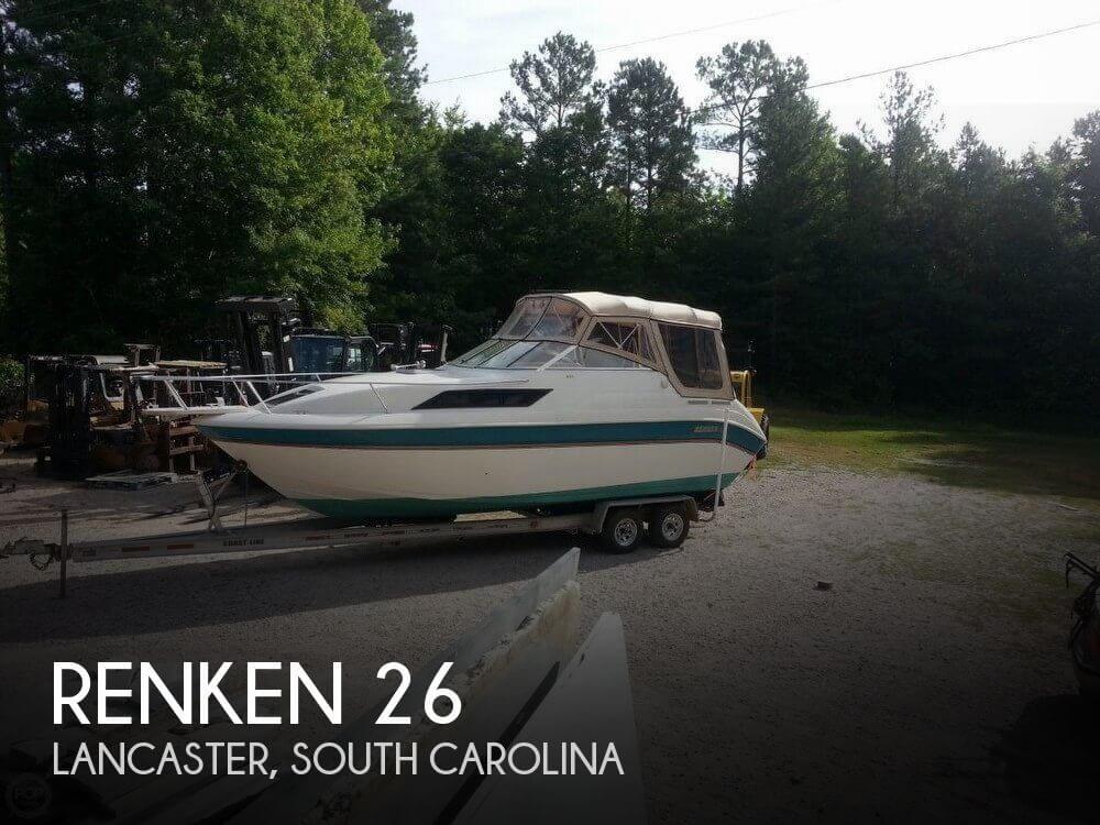 Used Renken Boats For Sale by owner   1995 Renken 26