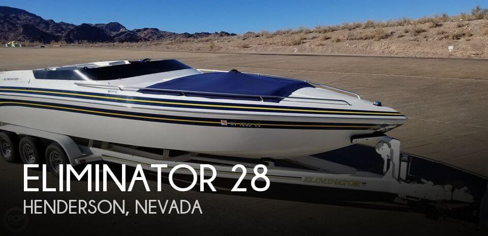 Used Boats For Sale in Nevada by owner | 1994 Eliminator 28