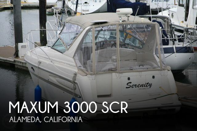 Used Maxum Boats For Sale in California by owner | 2001 Maxum 33