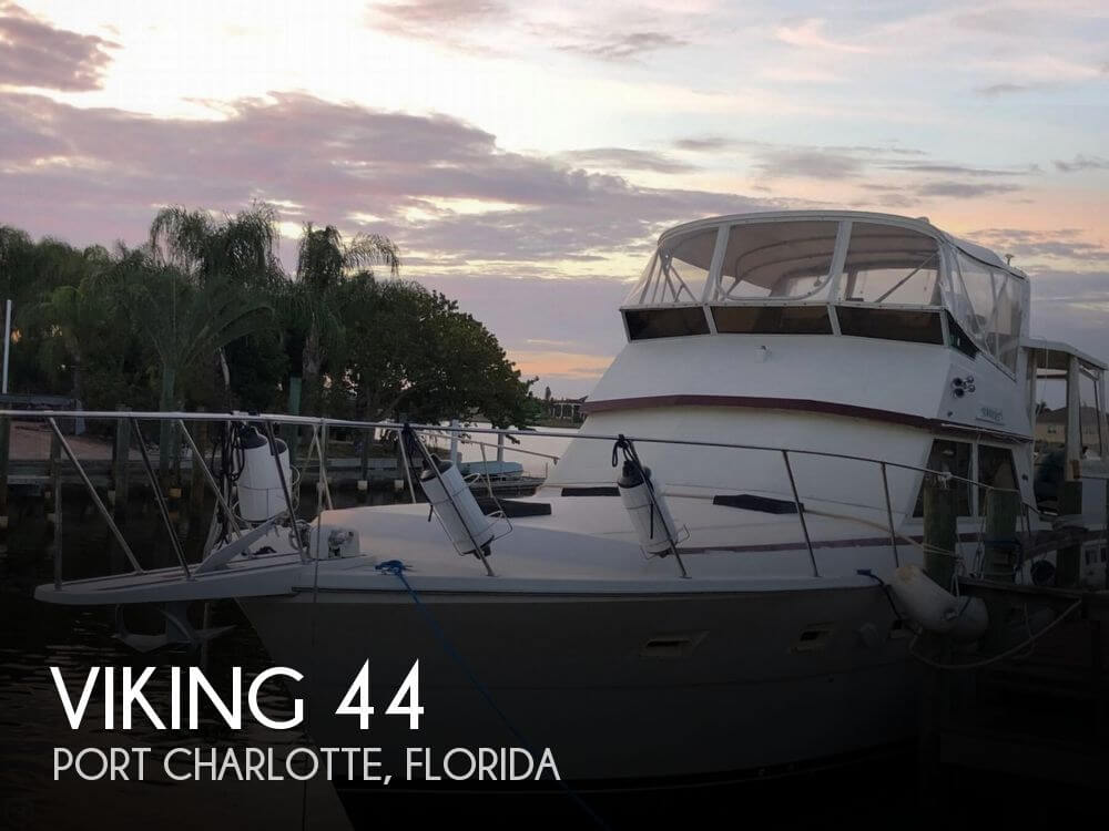 Used Viking Boats For Sale by owner | 1983 Viking 44