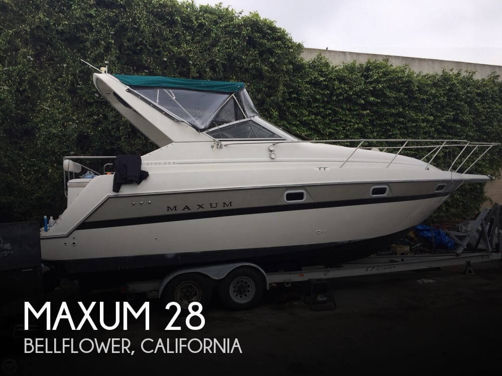 Used Maxum Boats For Sale in California by owner | 1995 Maxum 28