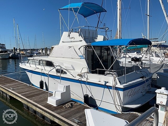 1969 Uniflite boat for sale, model of the boat is 36 & Image # 8 of 40