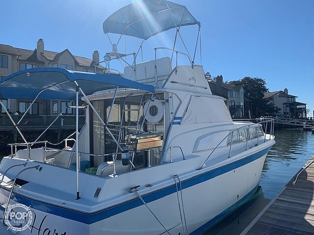 1969 Uniflite boat for sale, model of the boat is 36 & Image # 2 of 40