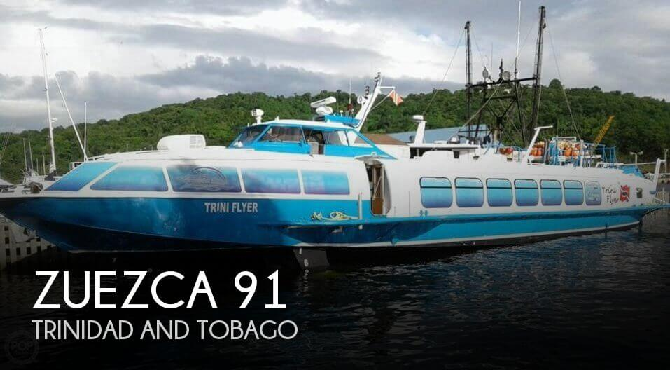 Used Boats For Sale in Trinidad and Tobago by owner | 1990 ZUEZCA 91
