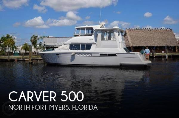 Used Carver Boats For Sale by owner | 1998 Carver 50