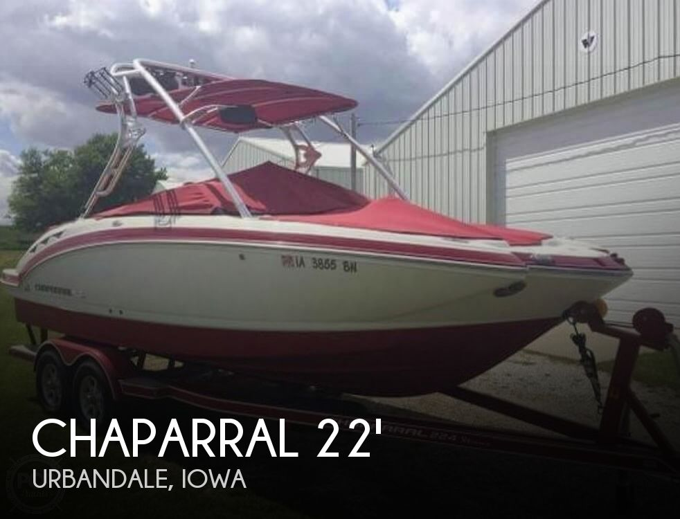 Used Boats For Sale in Iowa by owner | 2008 Chaparral 22