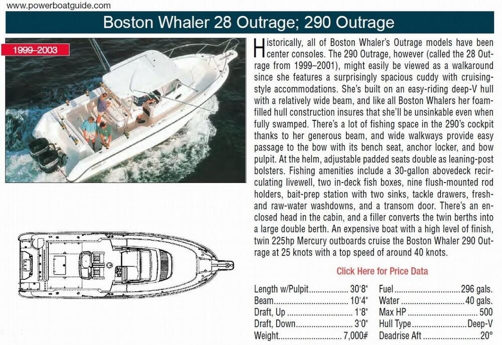 1999 Boston Whaler 28 Outrage - image 12