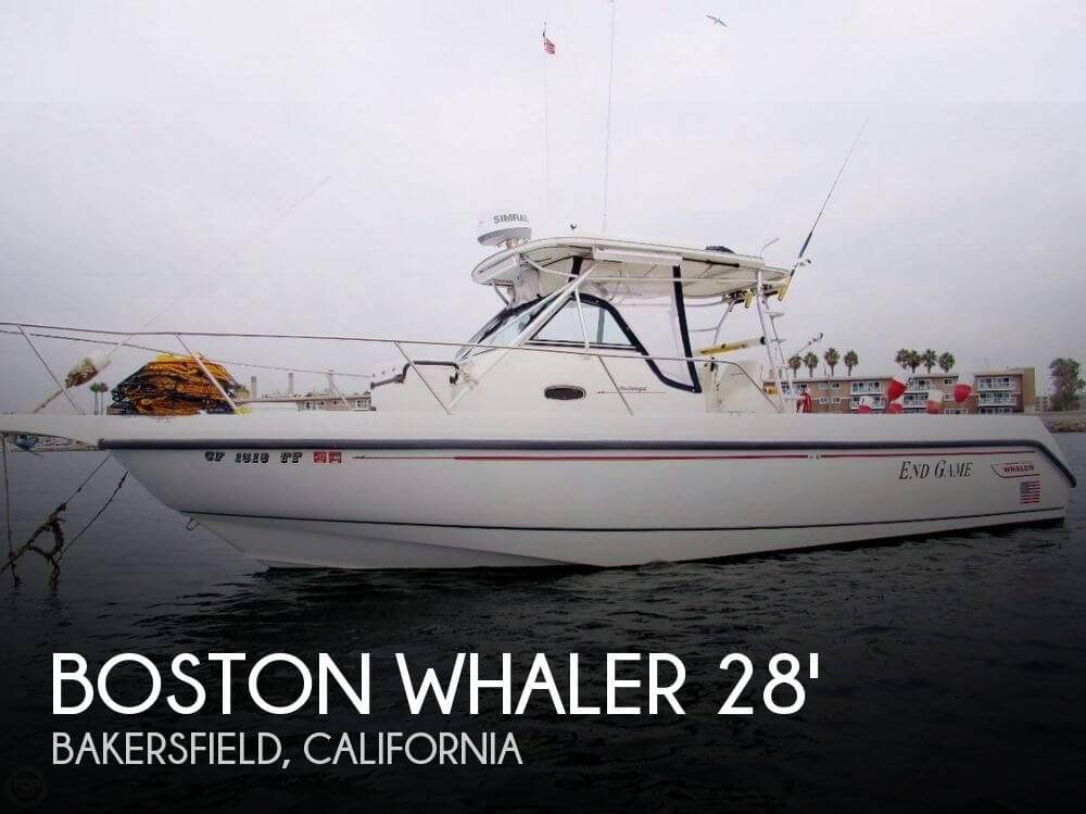 Used Boston Whaler 28 Outrage Boats For Sale by owner | 1999 Boston Whaler 28 Outrage