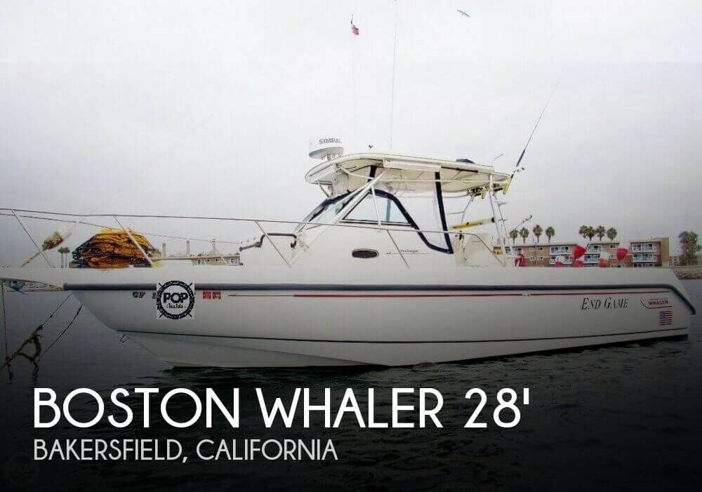 1999 Boston Whaler boat for sale, model of the boat is 28 Outrage CC cuddy & Image # 1 of 22