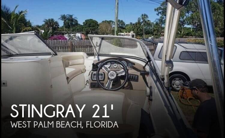 Used Deck Boats For Sale by owner | 2015 Stingray 21