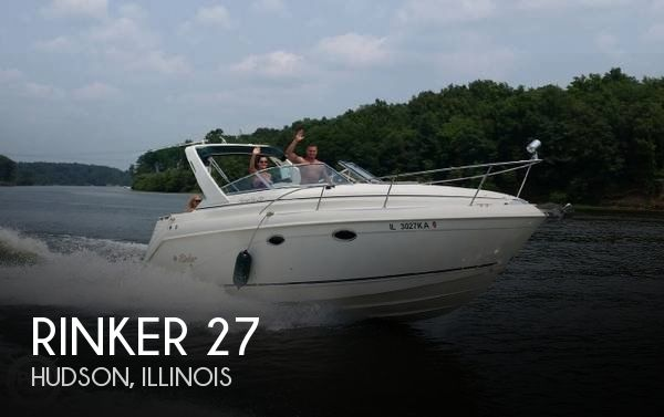 Used Boats For Sale in Springfield, Illinois by owner | 1999 Rinker 27