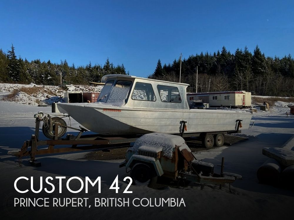 1997 Custom boat for sale, model of the boat is 42 & Image # 1 of 13