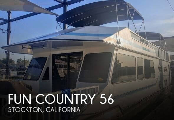 Used Boats For Sale in Merced, California by owner | 1993 Fun Country 56