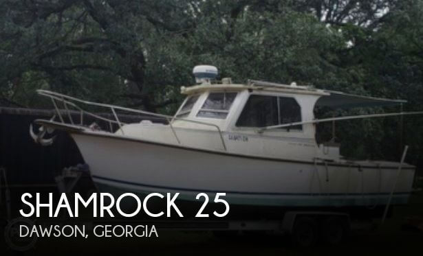 Used Boats For Sale in Columbus, Georgia by owner | 1990 Shamrock 25