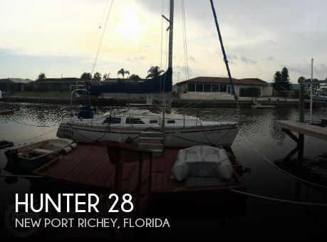 Used Hunter Sailboats For Sale by owner | 1992 Hunter 28